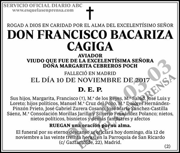 Francisco Bacariza Gagiga